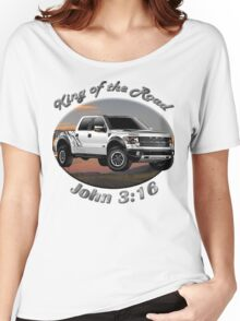 Ford F-150 Truck King Of The Road Women's Relaxed Fit T-Shirt