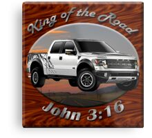 Ford F-150 Truck King Of The Road Metal Print