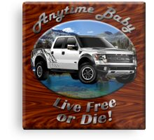 Ford F-150 Truck Anytime Baby Metal Print