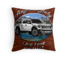 Ford F-150 Truck Anytime Baby Throw Pillow