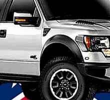 Ford F-150 Truck Road Rebel Sticker