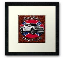 Ford F-150 Truck Road Rebel Framed Print
