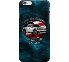 Ford F-150 Truck Give Me Liberty iPhone Case/Skin