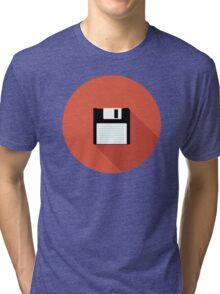 3 and a Half inch disc Tri-blend T-Shirt