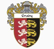 Grady Coat of Arms/Family Crest by William Martin