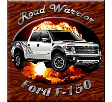 Ford F-150 Truck Road Warrior Photographic Print