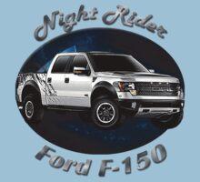 Ford F-150 Truck Night Rider Kids Tee