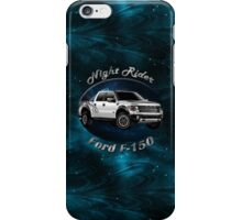 Ford F-150 Truck Night Rider iPhone Case/Skin