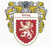 Gray Coat of Arms/Family Crest by William Martin