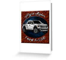 Ford F-150 Truck Night Rider Greeting Card