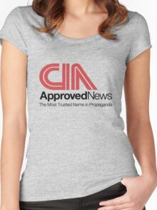 CIA Approved News Women's Fitted Scoop T-Shirt
