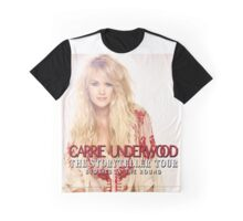 Carrie Underwood Tour 02 Graphic T-Shirt