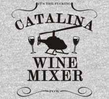 The Catalina Wine Mixer (BLACK) by WRBclothing