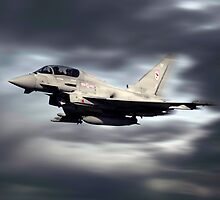 RAF Typhoon Pass by J Biggadike