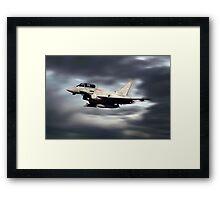 RAF Typhoon Pass Framed Print
