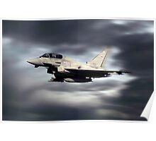 RAF Typhoon Pass Poster