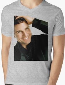 Tom Cruise Mens V-Neck T-Shirt