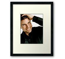 Tom Cruise Framed Print