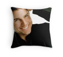 Tom Cruise Throw Pillow