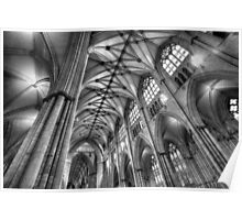 York Minster Interior Poster