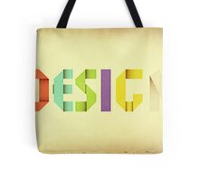 Folded Paper Poster Tote Bag