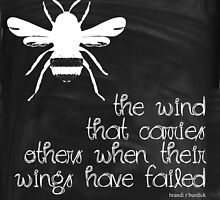be the wind for others~ by Brandi Burdick