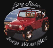 Jeep Wrangler Easy Rider Baby Tee