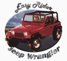 Jeep Wrangler Easy Rider Kids Tee