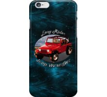 Jeep Wrangler Easy Rider iPhone Case/Skin
