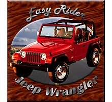 Jeep Wrangler Easy Rider Photographic Print