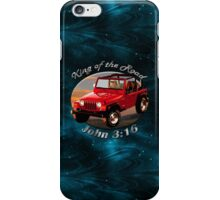 Jeep Wrangler King Of The Road iPhone Case/Skin