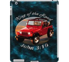 Jeep Wrangler King Of The Road iPad Case/Skin