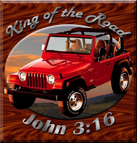 Jeep Wrangler King Of The Road by hotcarshirts