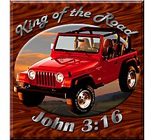 Jeep Wrangler King Of The Road Photographic Print