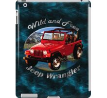 Jeep Wrangler Wild and Free iPad Case/Skin