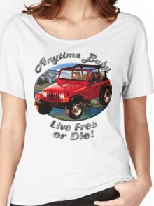 Jeep Wrangler Anytime Baby Women's Relaxed Fit T-Shirt