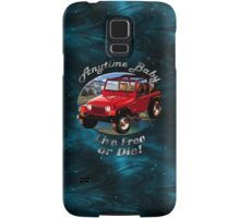 Jeep Wrangler Anytime Baby Samsung Galaxy Case/Skin