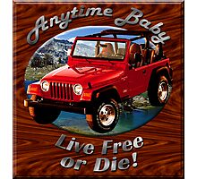 Jeep Wrangler Anytime Baby Photographic Print