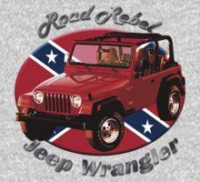 Jeep Wrangler Road Rebel Kids Tee
