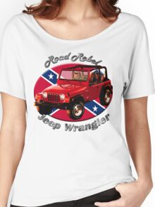 Jeep Wrangler Road Rebel Women's Relaxed Fit T-Shirt