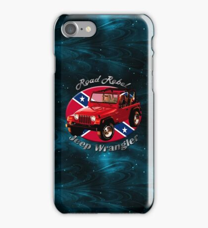 Jeep Wrangler Road Rebel iPhone Case/Skin