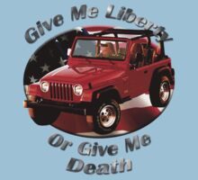 Jeep Wrangler Give Me Liberty One Piece - Short Sleeve