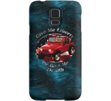 Jeep Wrangler Give Me Liberty Samsung Galaxy Case/Skin