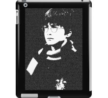 The Boy Who Lived - Typographic Poster iPad Case/Skin