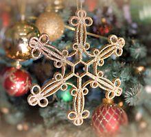 Gold Snowflake by ©Dawne M. Dunton