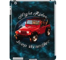 Jeep Wrangler Night Rider iPad Case/Skin