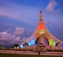 Equatorial Guinea Central Tower by amyleect
