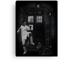 Dr Whoibble Canvas Print