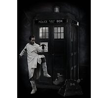 Dr Whoibble Photographic Print