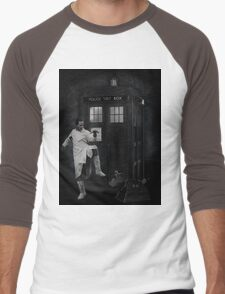 Dr Whoibble Men's Baseball ¾ T-Shirt